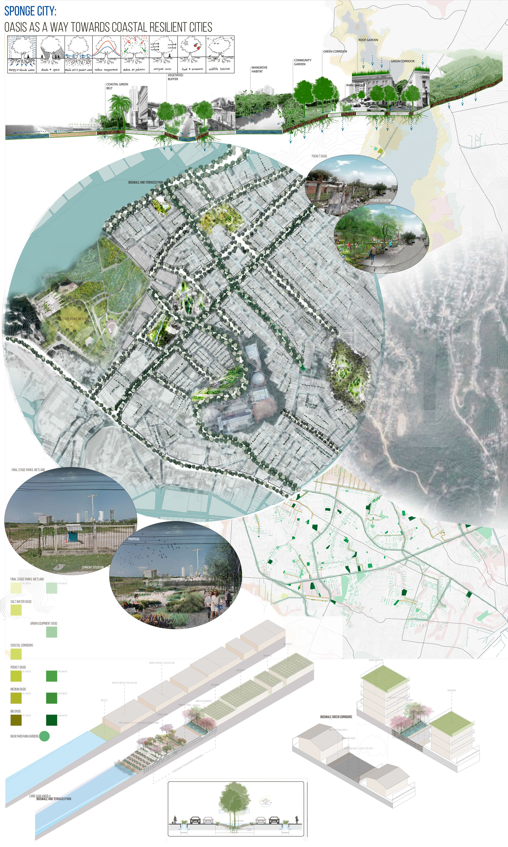 Sponge City: Oasis As A Way Towards Coastal Resilient